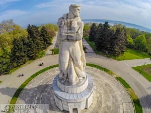 Пантеона- гр. Варна -въздушни снимки Варна