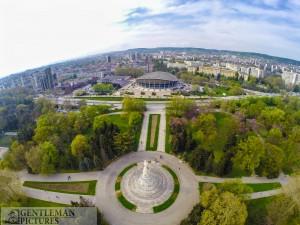Морска градина -Панорама-гр.Варна-въздушни снимки Варна
