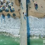 Сватба с дрон на плаж