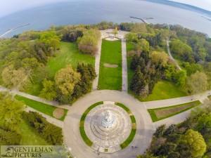 Пантеона- гр. Варна-въздушни снимки Варна